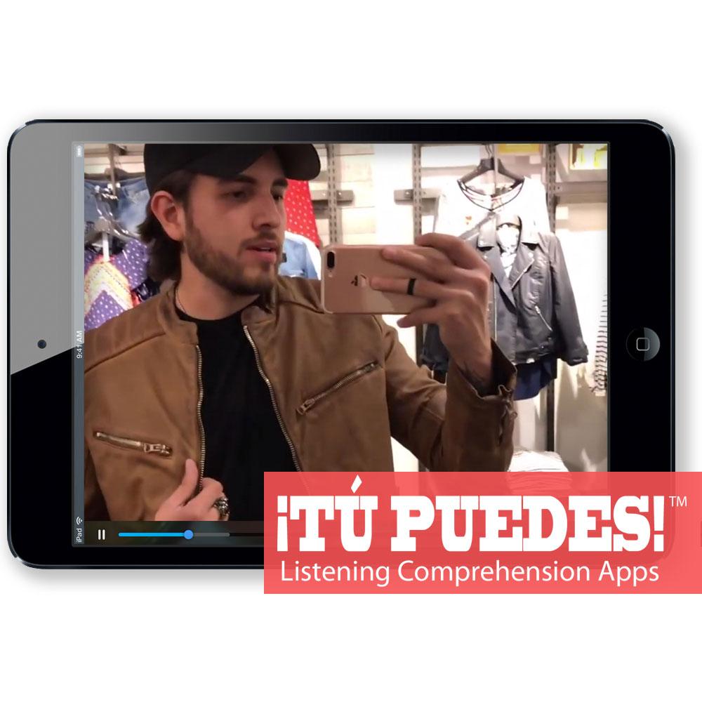 Listening Comprehension App for Digital Learning: JR Style Shopping