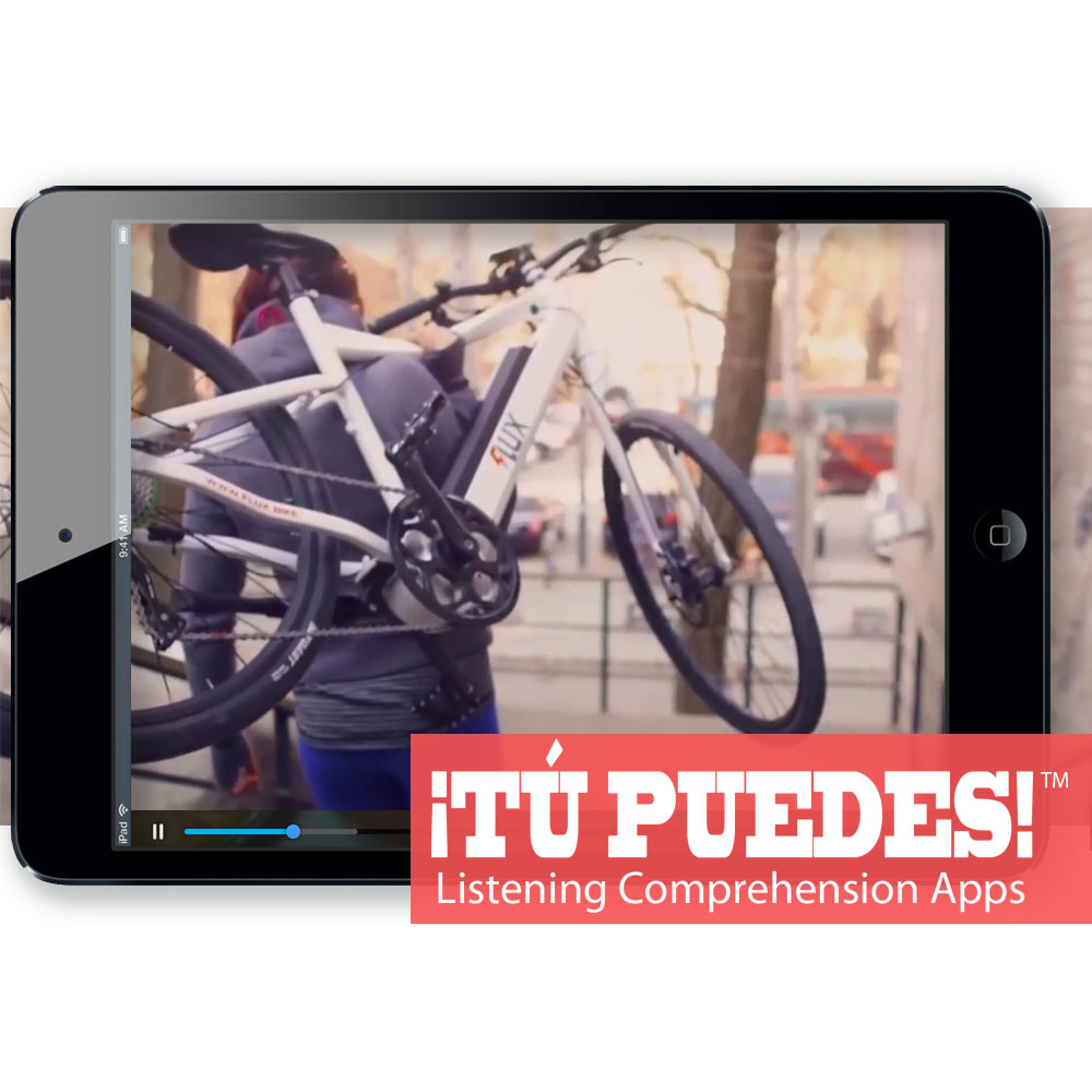 Listening Comprehension App for Digital Learning: Cool Bikes of the Future
