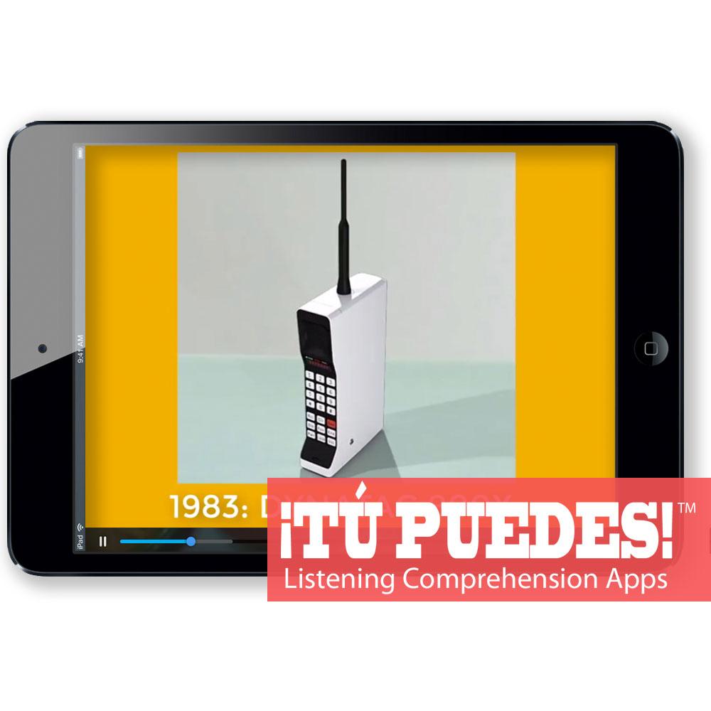 Listening Comprehension App for Digital Learning: Cell Phones