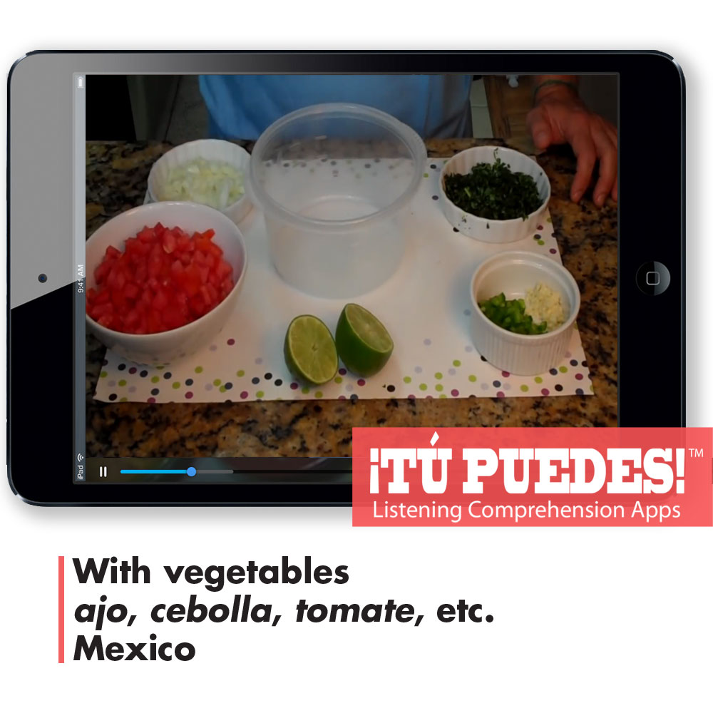 Listening Comprehension App for Digital Learning: Pico de Gallo - Hybrid Learning Resource
