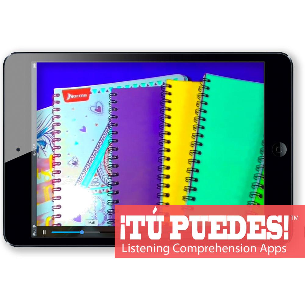 Listening Comprehension App for Digital Learning: School Shopping