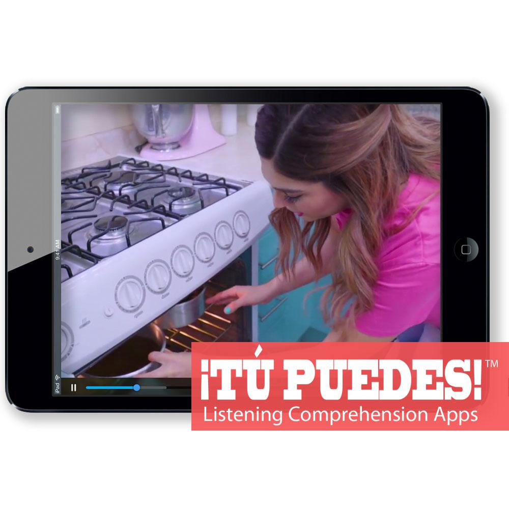 Listening Comprehension App for Digital Learning: Making Pastelitos