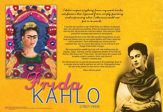 Frida Kahlo Traveling Exhibit