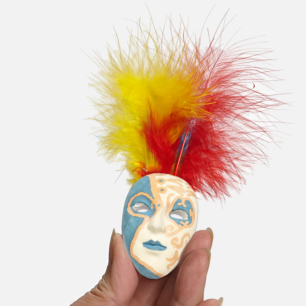 Mardi Gras/Carnaval/Karneval Mask Decorating Kit - Mardi Gras/Carnaval/Karneval Mask Decorating Kit