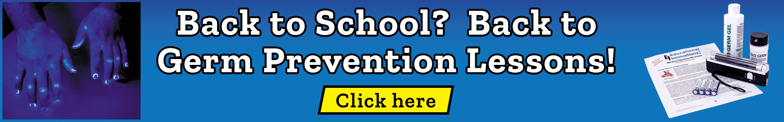Back to school? Back to germ prevention lessons