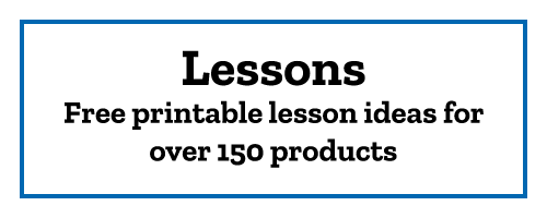 Lessons Free printable lesson ideas for over 150 products