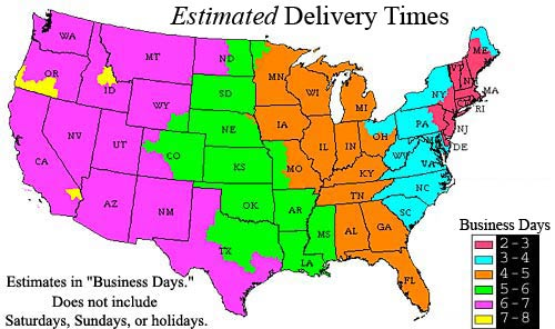 Usps First Class Delivery Map My Blog Holiday Ship Dates Last Day - Us mail time map