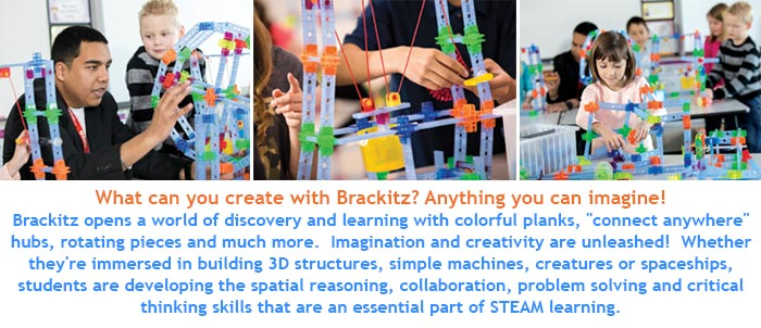 What can you create with Brackitz? Anything you can imagine! 