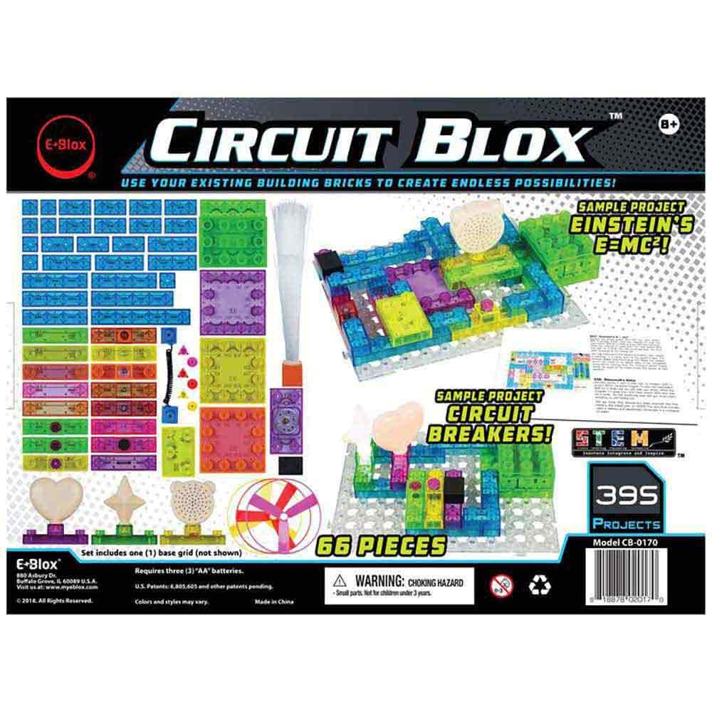 E Blox Circuit Blox 395 E Blox Educational Innovations Inc