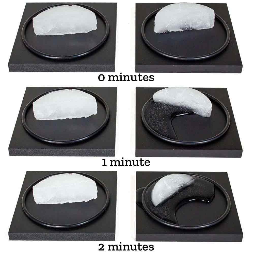 Amazing Ice Melting Blocks