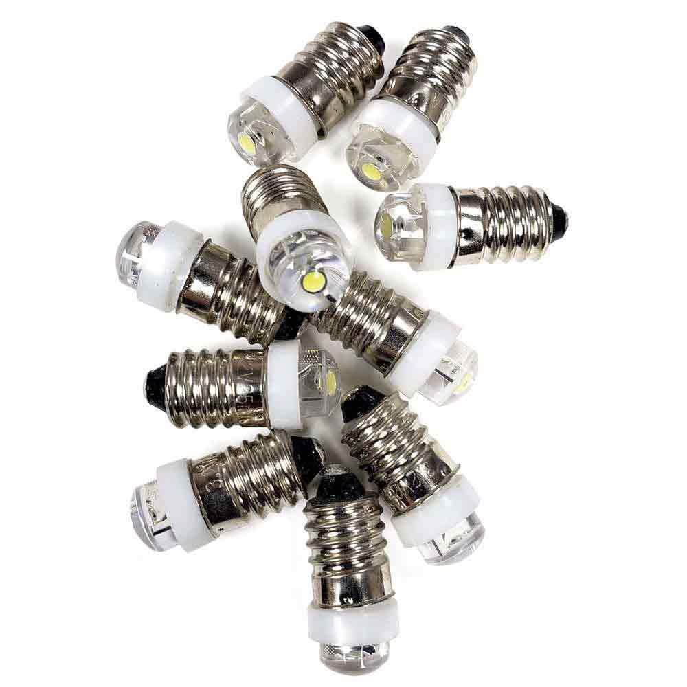 10 Pack 3.2V Mini LED Light Bulbs