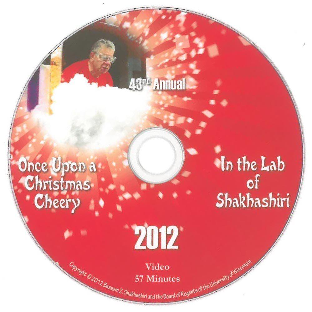 Once Upon A Christmas Cheery In The Lab Of Shakhashiri 2020 Chemical Demonstration Videos, Shakhashiri: Educational