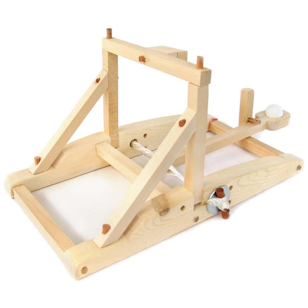 Working Wood Catapult Kit