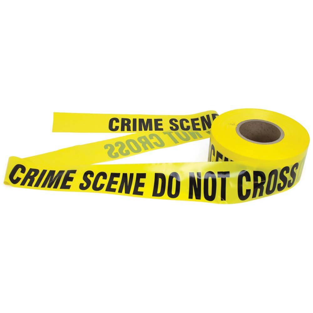 """""""CRIME SCENE DO NOT CROSS"""" Barrier Tape"""
