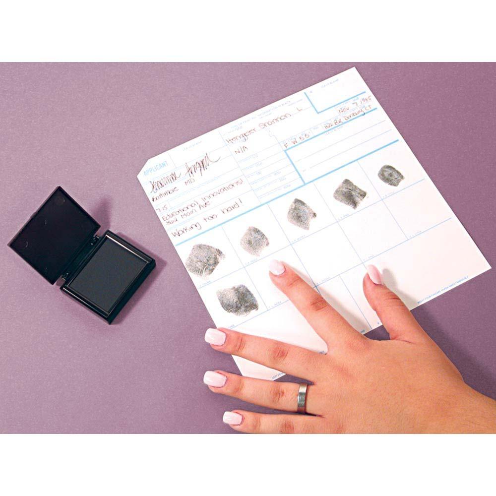 Fingerprint Cards - Standard FBI Applicant (50 cards)