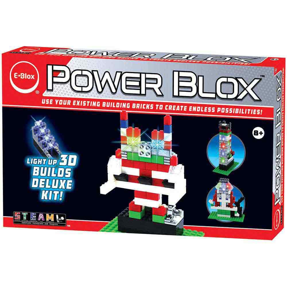 e-Blox Power Blox Builds Deluxe Set