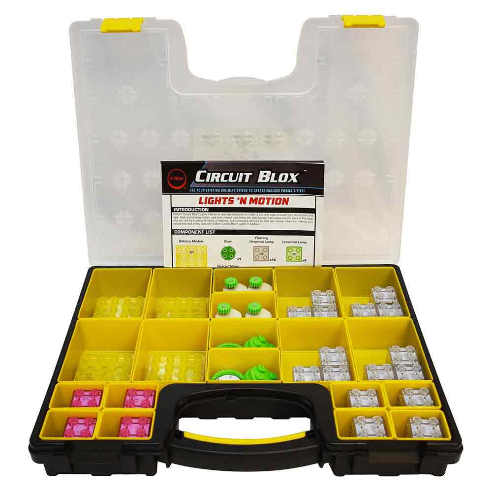 e-Blox Circuit Blox Lights 'N Motion Classroom Set