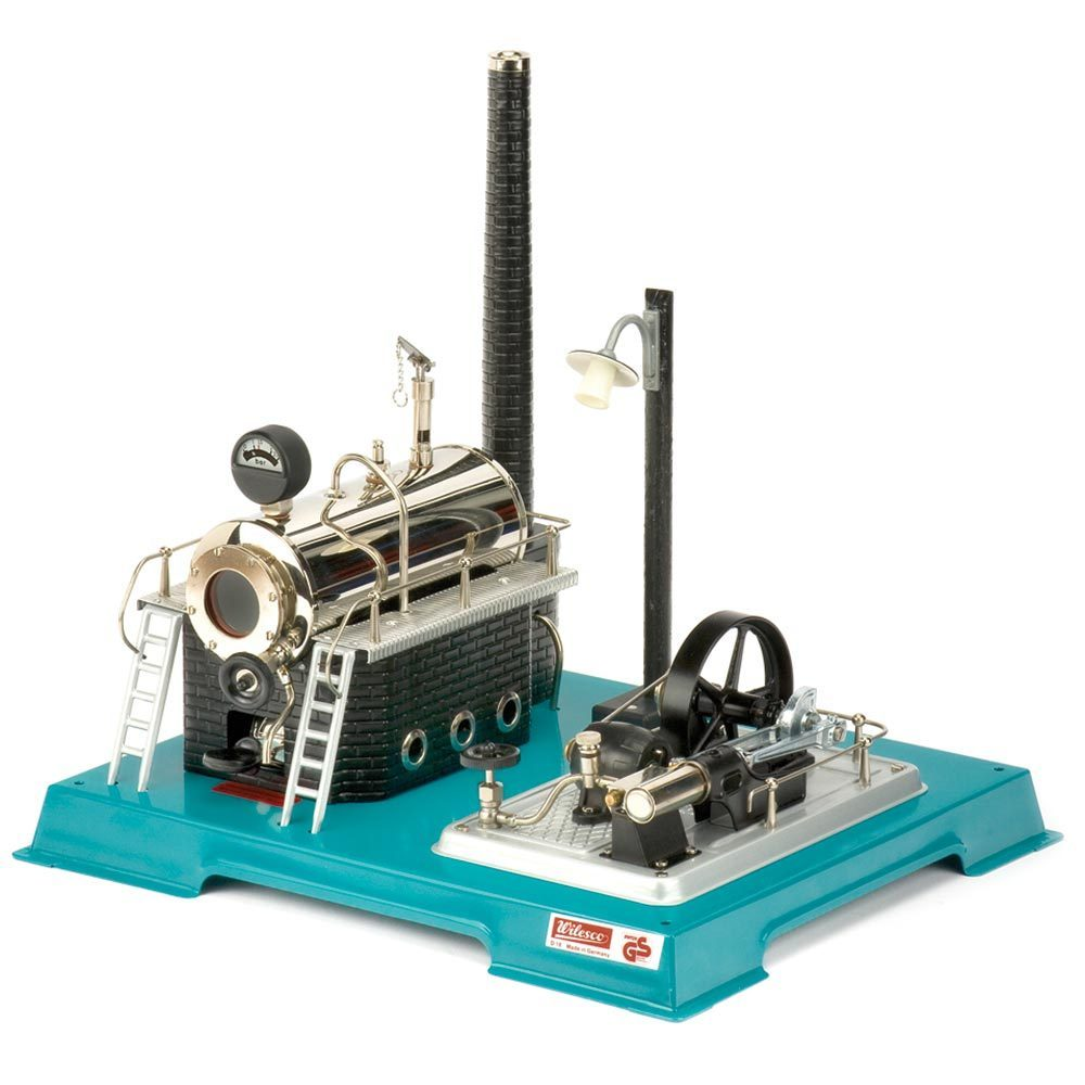 Wilesco D18 Steam Engine with Integral Generator & Light