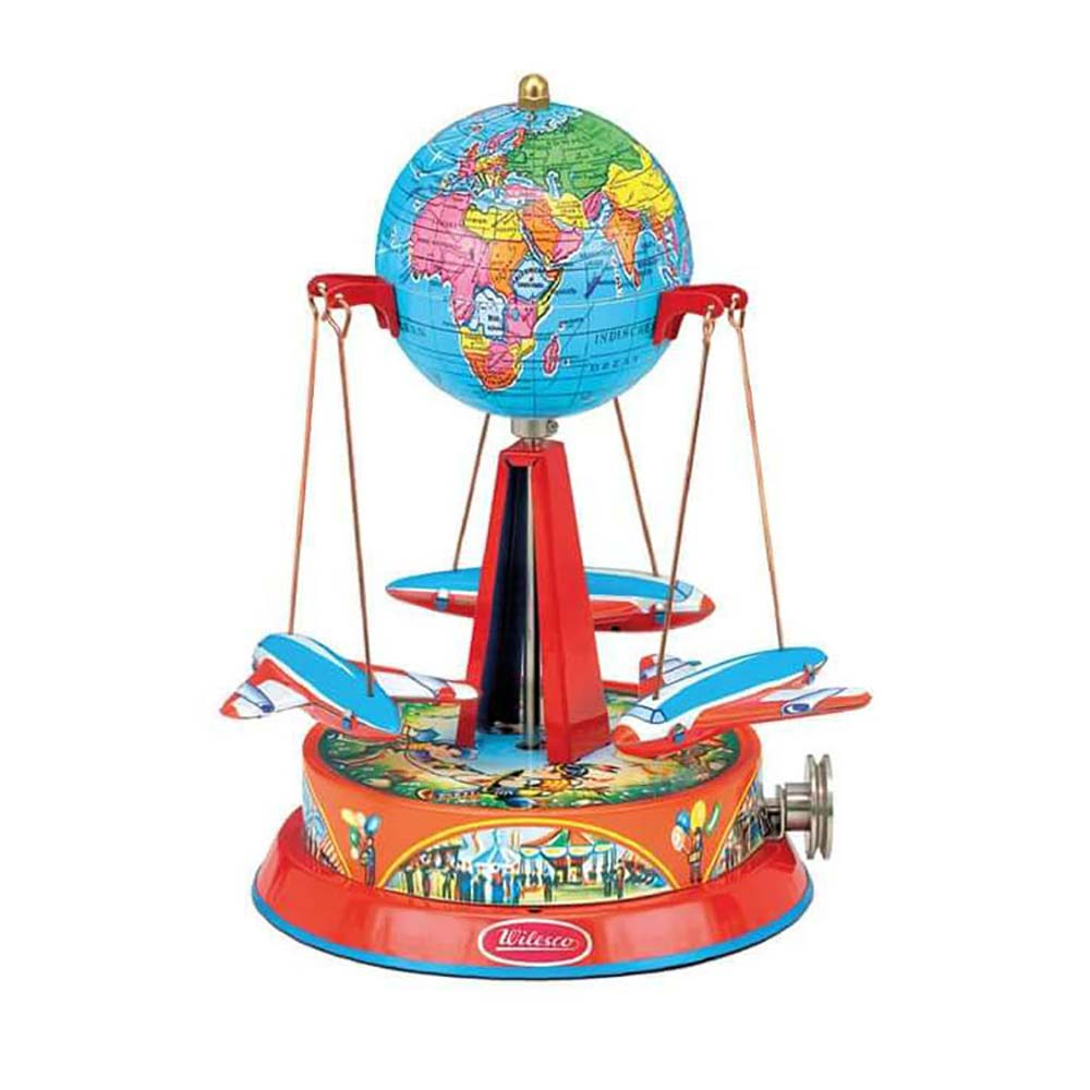 Wilesco M 71 - Roundabout with Globe
