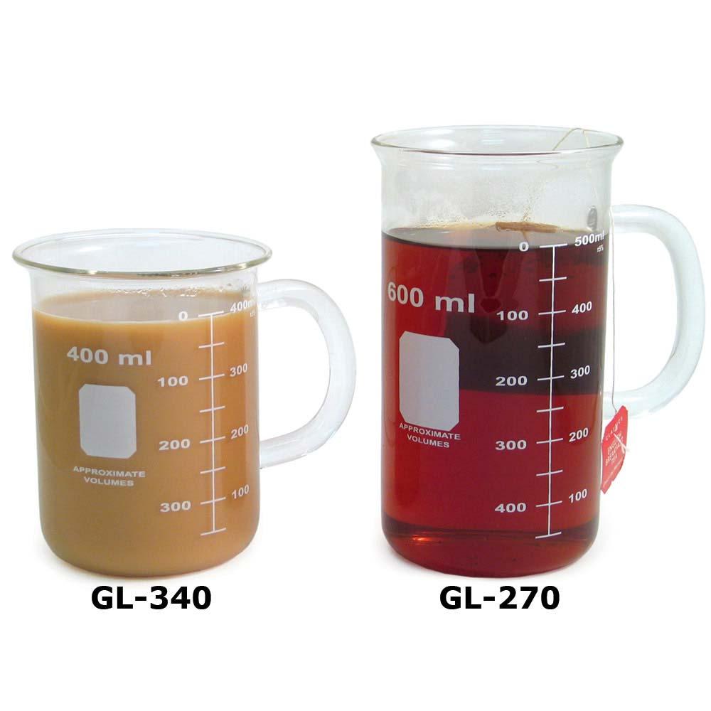 999268c3d5e Beaker Mugs, Glassware: Educational Innovations, Inc.