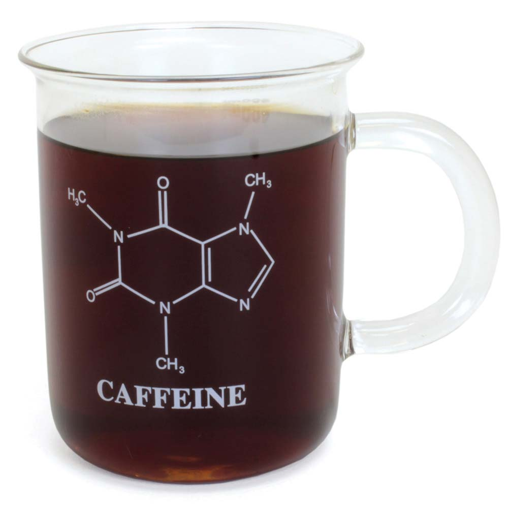 89d5740f9fd Caffeine Beaker Mug, Glassware: Educational Innovations, Inc.