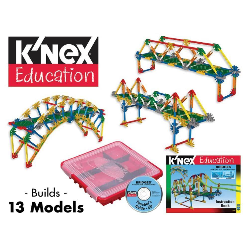 Intro To Structures Bridges K Nex Kit Structures Kits Educational Innovations Inc