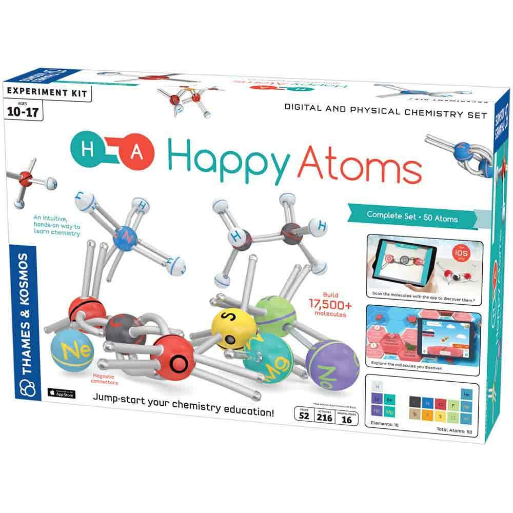 Happy Atoms Complete Set (50 Atoms)