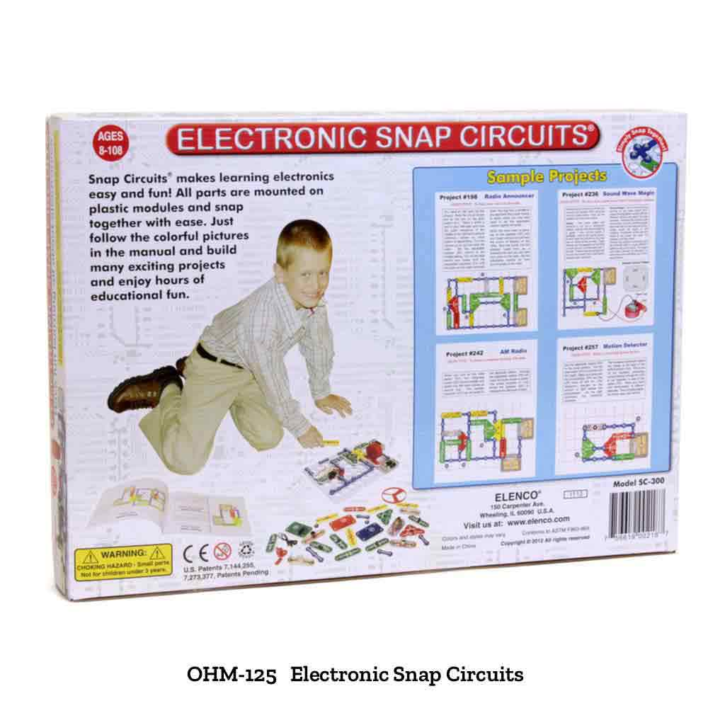 Snap Circuits Electricity Educational Innovations Inc Elenco Flying Saucer Easy To Build Provides Hours Of Fun
