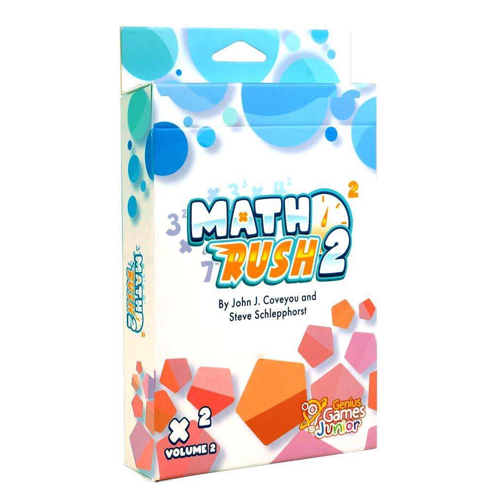 Math Rush 2: Multiplication & Exponents