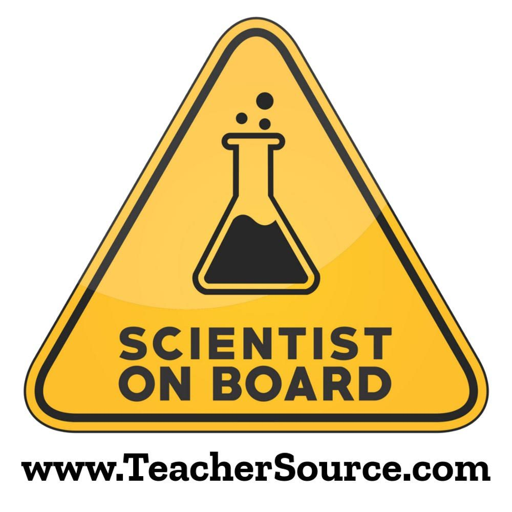 Scientist On Board Sticker
