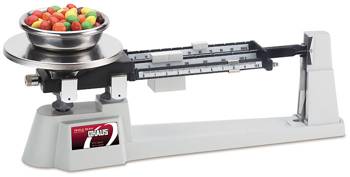 Lab Equipment and Safety - Triple Beam Balance (OHAUS #750-SO)