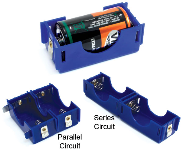 Electricity & Magnetism - Battery Holders