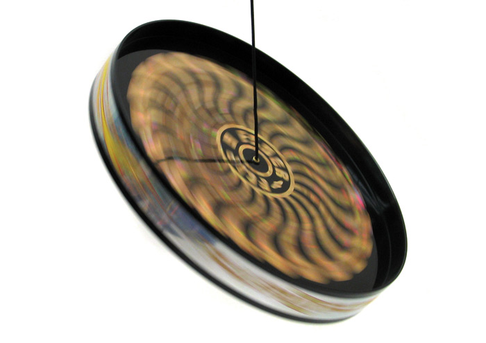the flipped disc is in the air discflipper flip n flyer gyroscopic flying disc second set 721