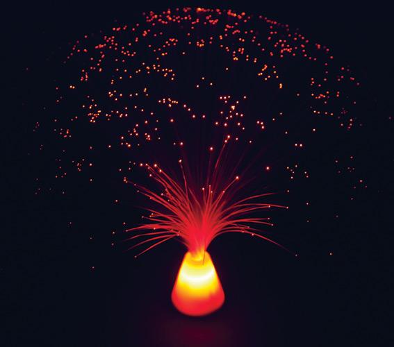 light color mini fiber optic light