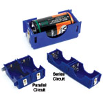 d-cell battery holders
