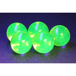fluorescent marbles package of 5