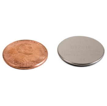 Button Batteries CR2016 Lithium 5/pk