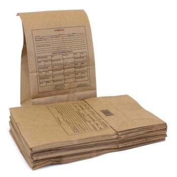 Official Paper Evidence Bags (50/pk)