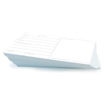 Latent Fingerprint Backing Cards 50/pk