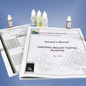 Simulated ABO/Rh Blood Typing Kit - Simulated ABO/Rh Blood Typing Kit