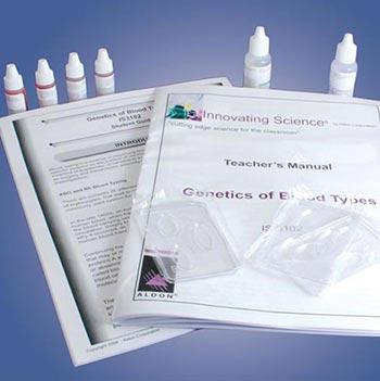 Genetics of Blood Types Kit - Genetics of Blood Types Kit