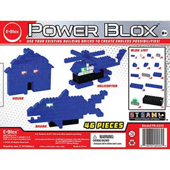 e-Blox Power Blox Builds 4-in-1