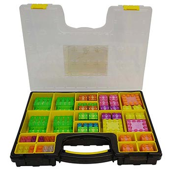 e-Blox Circuit Blox Lights Advanced Classroom Set