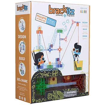 Brackitz 77 Piece Pulley Set