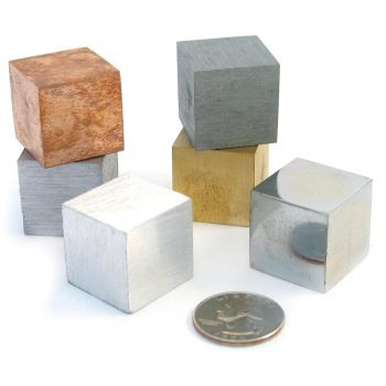 Density Cubes - Six Metals