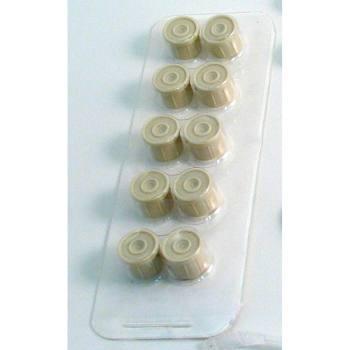 Replacement - LuerLOK Syringe Cap Fittings - (10/pk)