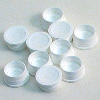 Replacement - Plastic Vial Caps - (10/pk)