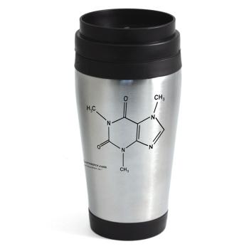 Caffeine Travel Mug (Stainless Steel)