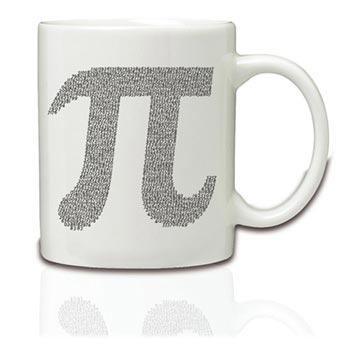 Pi Ceramic Mug
