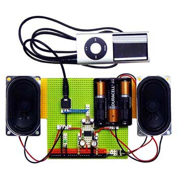 5eBoard How to Build a Stereo Amplifier